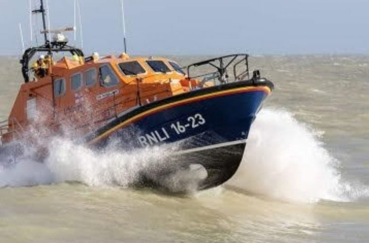 Eastbourne RNLI recovers body at sea on Eastbourne Bournefree website