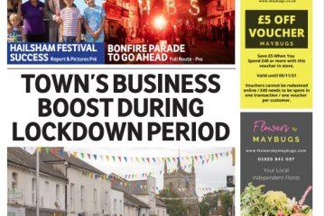 New monthly newspaper for Hailsham on Eastbourne Bournefree website