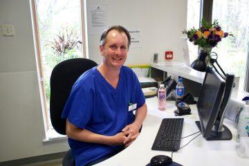 Nurse Oliver Nazer is running Sunday's Brighton Marathon for St Wilfrid's Hospice on Eastbourne Bournefree website