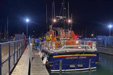 Search for missing person off Belle Tout in the early hours on Eastbourne Bournefree website