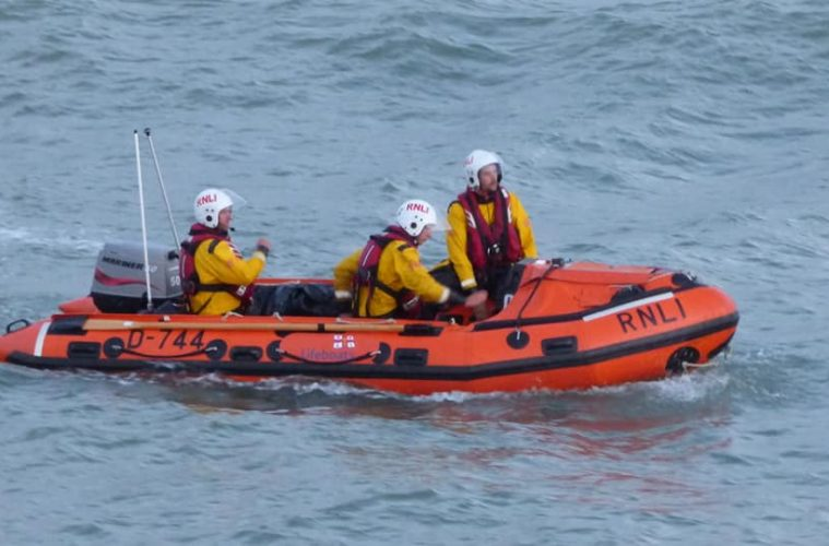 Windsurfer in distress rescued near Pevensey Bay on Eastbourne Bournefree website