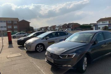 Beatty Road shops car park is full again! on Eastbourne Bournefree website