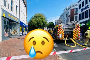 Owners 'beyond devastated' after fire at Maybugs in Eastbourne Town Centre on Eastbourne Bournefree website