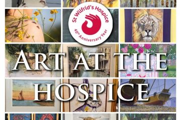 Amazing art at Eastbourne's St Wilfrid's Hospice ON Eastbourne Bournefree website