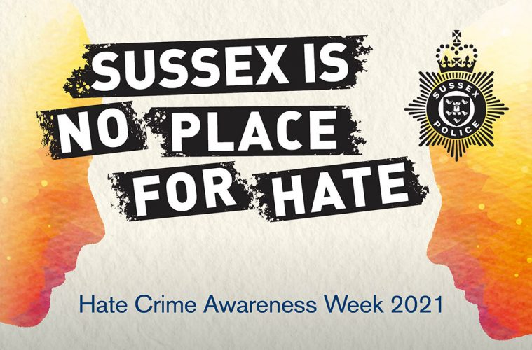 Sussex Police join with partners to raise awareness of hate crime on Eastbourne Bournefree website