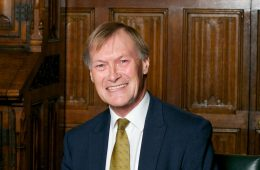 Monday afternoon - Caroline remembers Sir David on Eastbourne Bournefree website