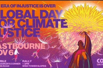 Global Day of Action for Climate Justice - Eastbourne ACTION on Eastbourne Bournefree website