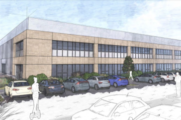 New state-of-the-art employment park on the A22 at Lower Dicker on Eastbourne Bournefree website