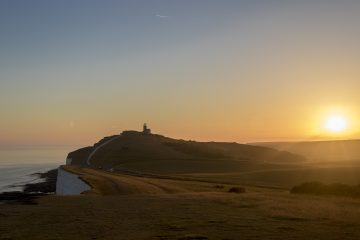 Events Booking Up Fast for Half Term Afterlight Festival at Beachy Head on Eastbourne Bournefree website