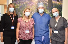 Urology team exceed participant recruitment target for research on Eastbourne Bournefree website