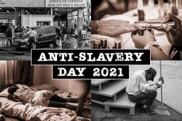 Sussex partners mark Anti-Slavery Day on Eastbourne Bournefree website