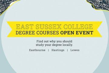 East Sussex College hosting Higher Education Open Events on Eastbourne Bournefree website