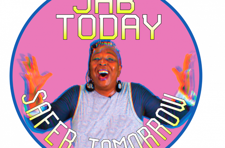 JAB TODAY, SAFER TOMORROW - with celebrity Momma Cherri on Eastbourne Bournefree website